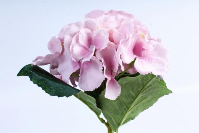 Искусственное растение -  Гортензия розовая  (Т)