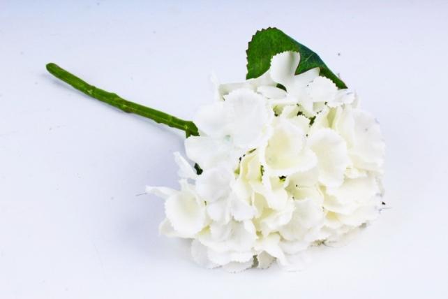 Искусственное растение -  Гортензия шампань 33 см