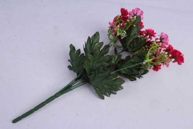 искусственное растение - гвоздички малиновые 30 см