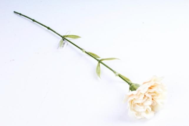 Искусственное растение -  Гвоздика кремовая  SUN005