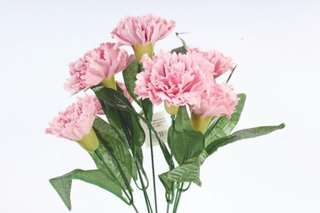 Искусственное растение -  Гвоздика турецкая пудровая   Б10827