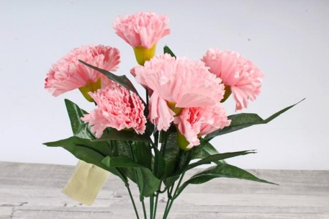 Искусственное растение -  Гвоздика турецкая розовая Б10827
