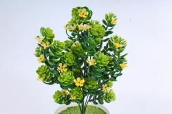 Искусственное растение -  Хмель с жёлтыми цветочками