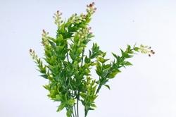 Искусственное растение -  Иглица с бордовыми ягодками