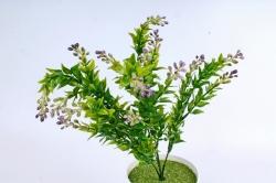Искусственное растение -  Иглица с сиреневыми ягодками