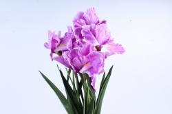 Искусственное растение -  Ирис Лорион сиреневый  Б9144