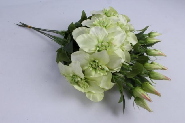 Искусственное растение - Клематис салатовый  (12шт в уп)  SUN540