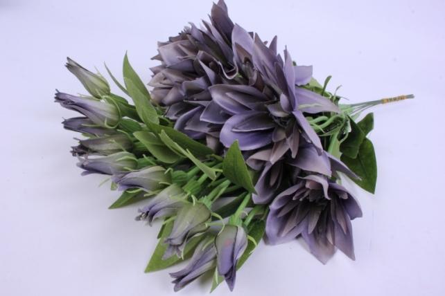 Искусственное растение - Клематис Серый 45см(12шт в уп) SUN500