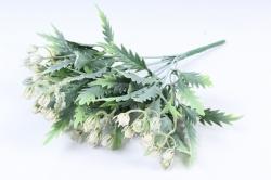 Искусственное растение -  Княженика сибирская белая  Б9973