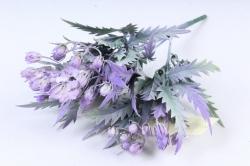 Искусственное растение -  Княженика сибирская сиреневая  Б9973