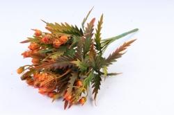 Искусственное растение -  Княженика сибирская терракотовая  Б9973