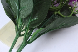 искусственное растение - колокольчик с гипсофилой сиреневый h=25cm