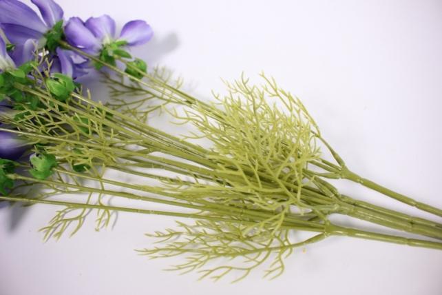 искусственное растение - космея 45см сиреневая(6 шт в уп) sun448