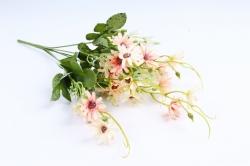Искусственное растение -  Космея мелкая персиковая 40 см (Т)
