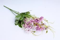 Искусственное растение -  Космея мелкая сиреневая 40 см (Т)