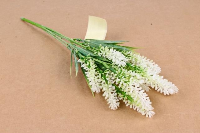 Искусственное растение -  Лаванда белая   Б10626