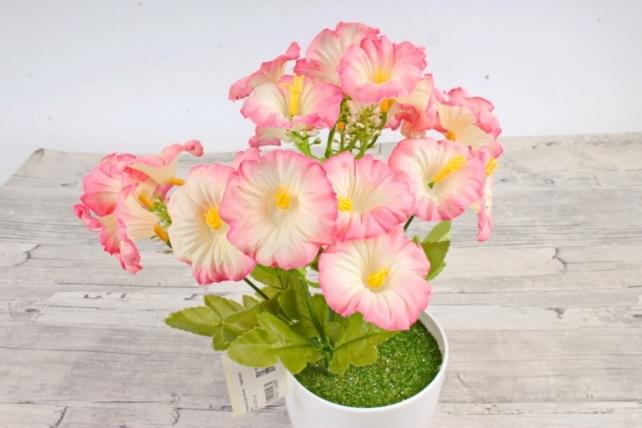 Искусственное растение -  Лаватера розовая