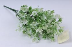 Искусственное растение - Ленок белый h=35cm