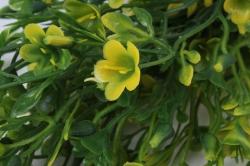 искусственное растение - ленок жёлтый h=35cm