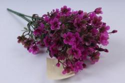 Искусственное растение - Ленок малиновый h=35cm