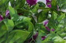 искусственное растение - лиана с розами сиреневыми