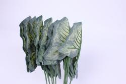 искусственноерастение-листдекоративныйтёмный25см(12штвуп)2833