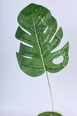 Искусственное растение h=55см  -  Лист монстеры