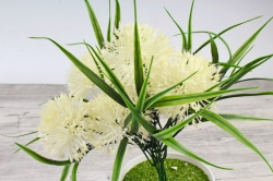 Искусственное растение -  Лук декоративный белый   Б10785