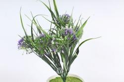 Искусственное растение -  Лук декоративный фиолетовый   Б10785