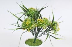 Искусственное растение -  Лук декоративный жёлтый   Б10785