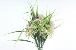 Искусственное растение -  Лук декоративный розовый  Б10785