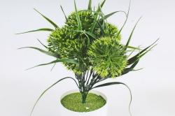 Искусственное растение -  Лук декоративный салатовый    Б10785