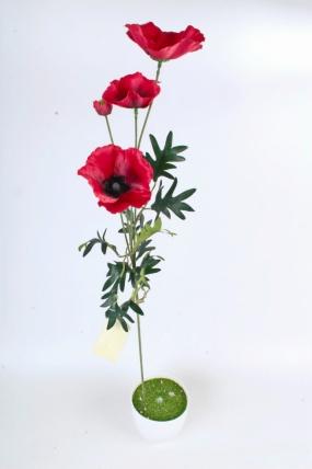 Искусственное растение -  Мак Восточный В9774