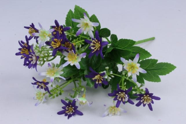 Искусственное растение - Ночная фиалка фиолетово-сиреневая h=30cm