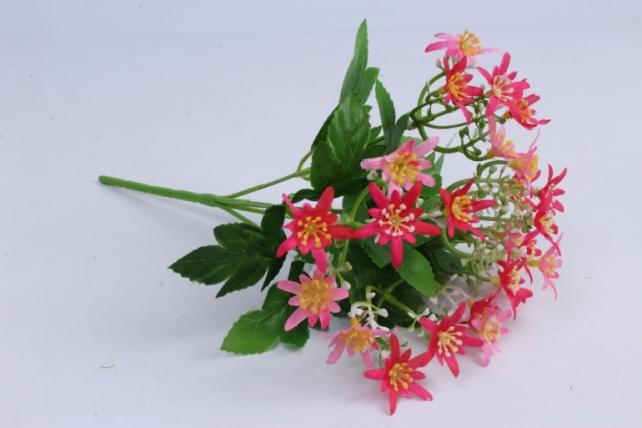 Искусственное растение - Ночная фиалка малиново-розовая h=30cm