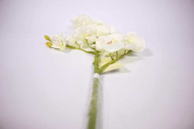 искусственное растение - орхидея 45см белая sun230