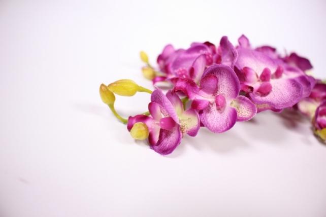 искусственное растение - орхидея 45см фуксия  sun230