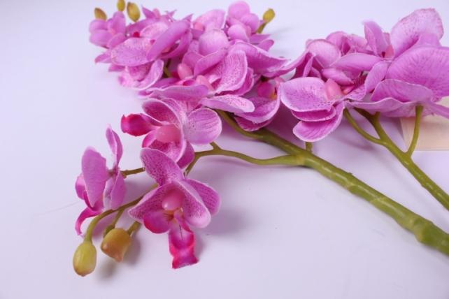 искусственное растение - орхидея 45см малиновая  sun230