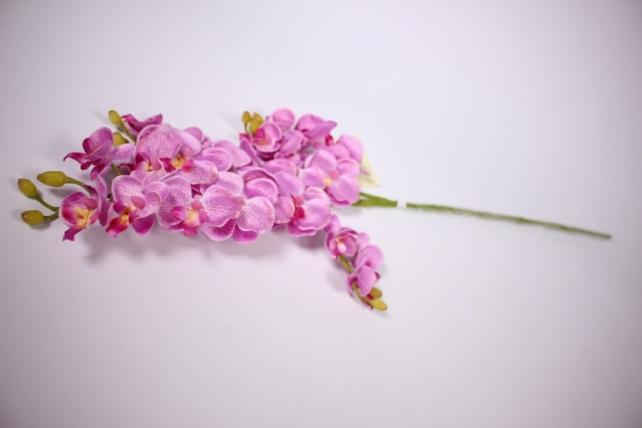 Искусственное растение - Орхидея 45см пурпурная  SUN230