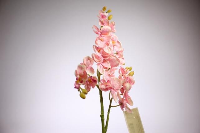 искусственное растение - орхидея 45см розовая  sun230