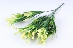 Искусственное растение -  Осока яркая жёлтая  Б10376
