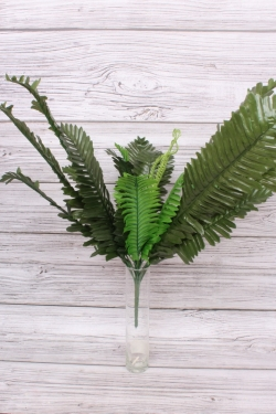 Искусственное растение -  Папоротник куст 65 см