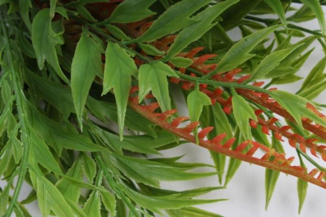 Искусственное растение - Папоротник с завитком