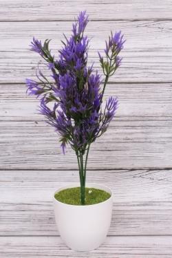Искусственное растение -  Папоротник  скальный фиолетовый. 34 см.