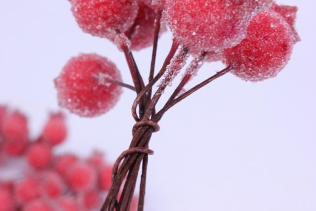 искусственное растение - плоды шиповника 72шт  gbn7j0088  0548