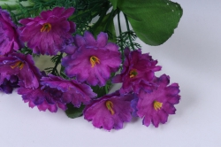 искусственное растение - примула 20 см фиолетовая