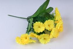 Искусственное растение - Примула 20 см жёлтая