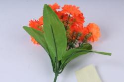 искусственное растение - примула 20 см коралловая