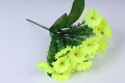 Искусственное растение - Примула 20 см лимонная