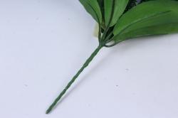 искусственное растение - примула 20 см синяя